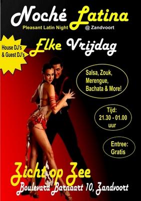 Noche Latina party in Zandvoort aan Zee